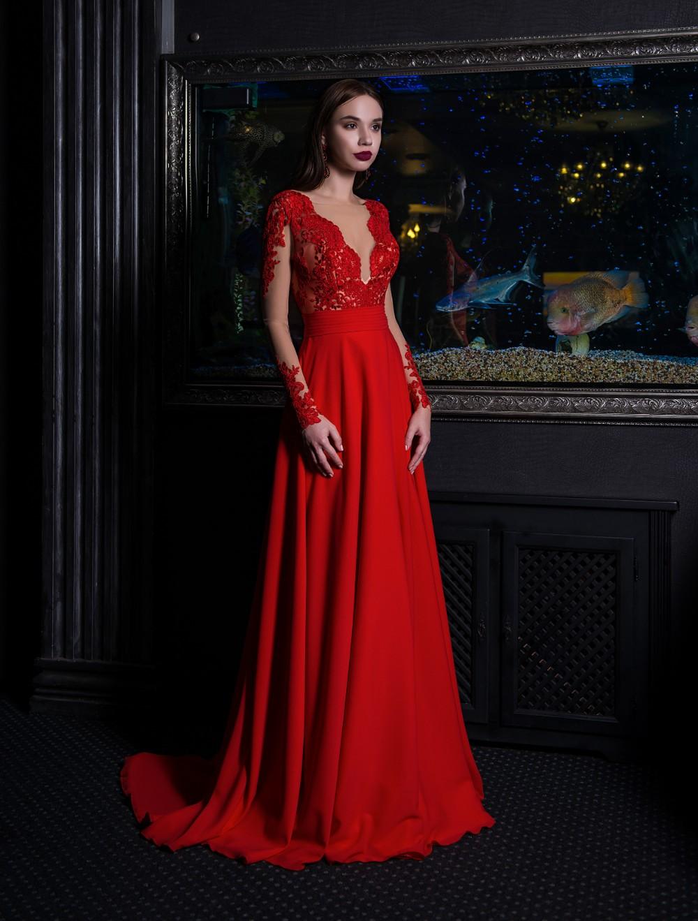 91a8cc26 Evening dresses V-153 - Nivaldo Wedding Dresses London Shop