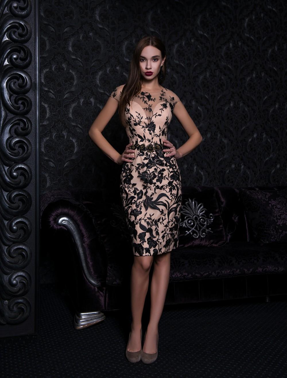 5e902904 Evening dresses V-156 - Nivaldo Wedding Dresses London Shop