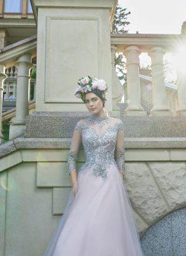 Evening Dress V-163