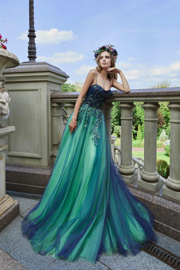 Evening Dress V-166