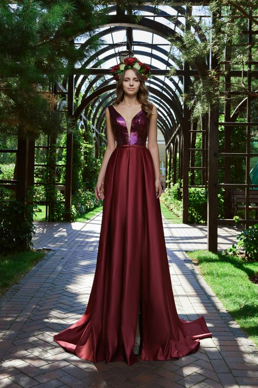 Evening Dress V-167