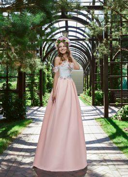 Evening Dress V-168
