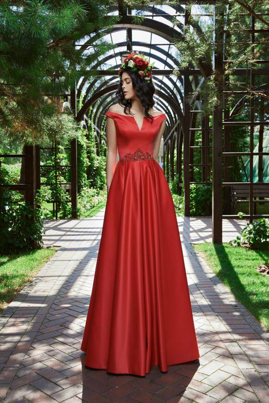 Evening Dress V-169