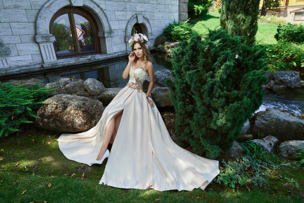 Evening Dress V-170