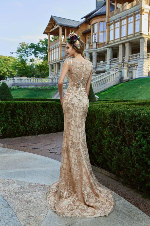Evening Dress V-172