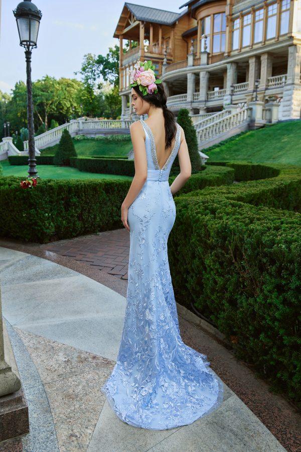 Evening Dress V-173