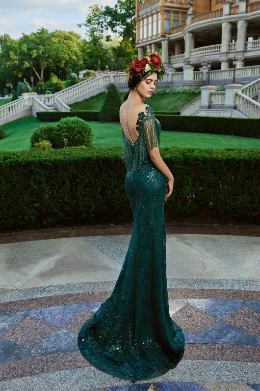 Evening Dress V-174