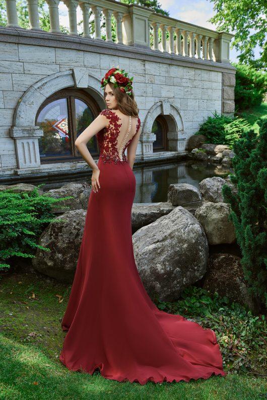 Evening Dress V-176