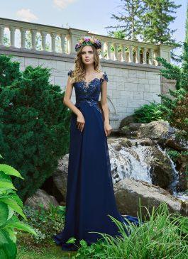 Evening Dress V-177