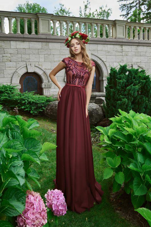 Evening Dress V-178