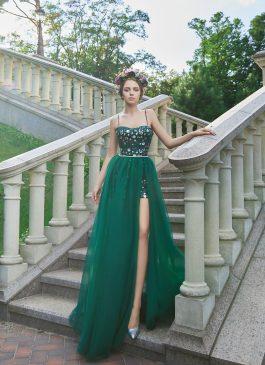 Evening Dress V-179