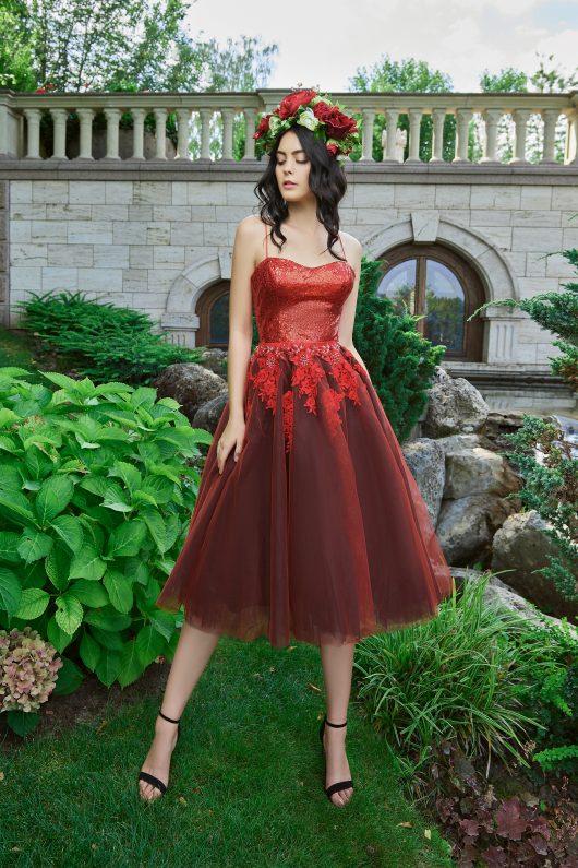 Evening Dress V-180