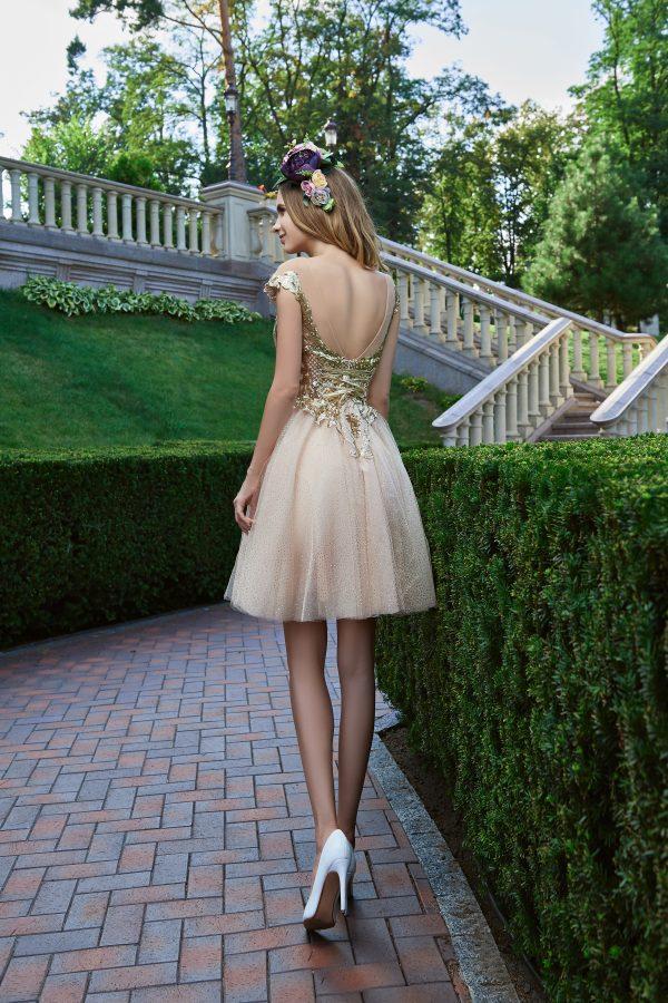 Evening Dress V-181